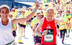 senior running race
